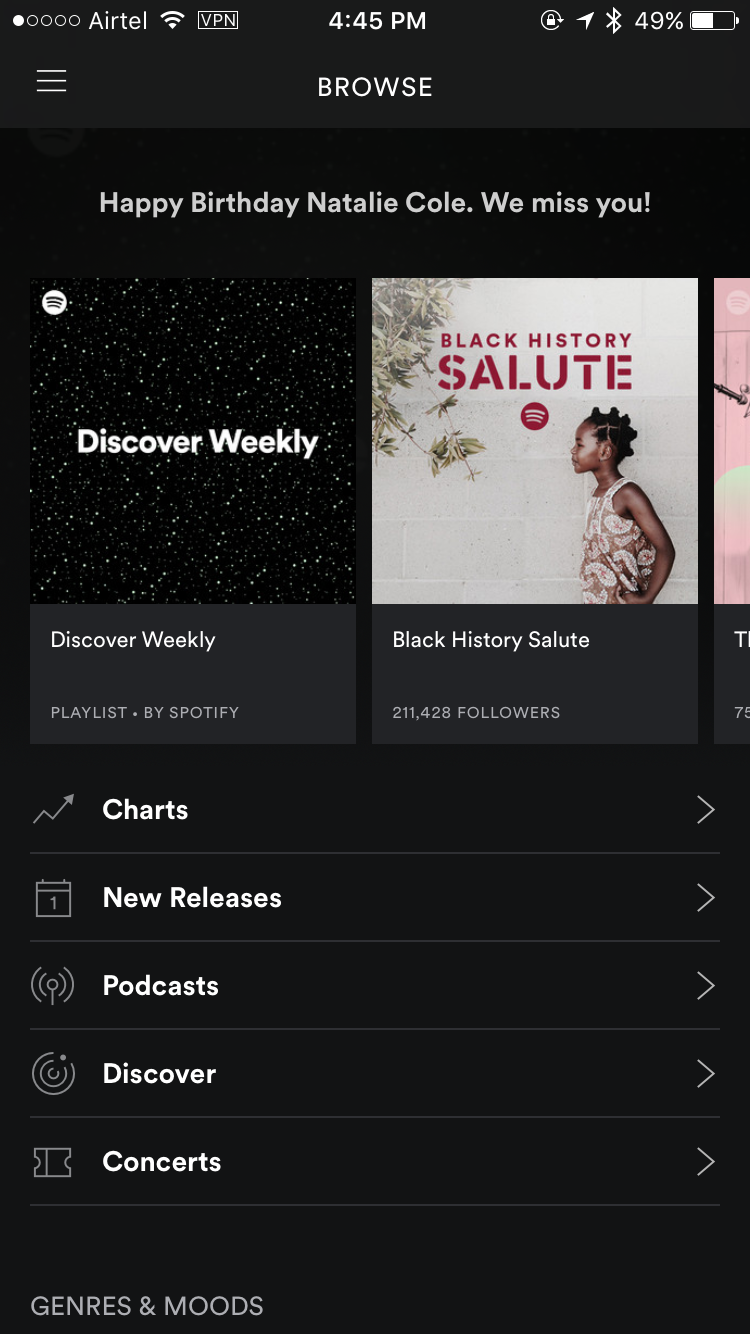 Spotify++ iPhone