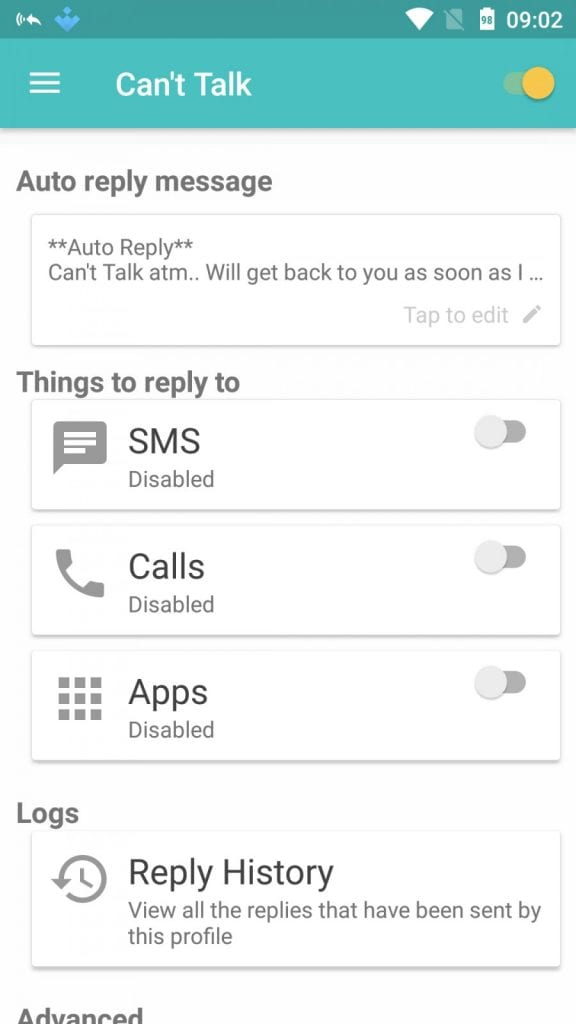 Auto-reply WhatsApp Messages
