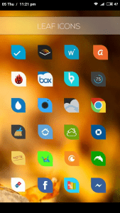 Leaf Icons- android icon packs