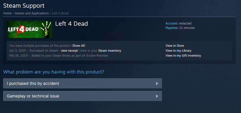 Games and Applications > Left 4 Dead