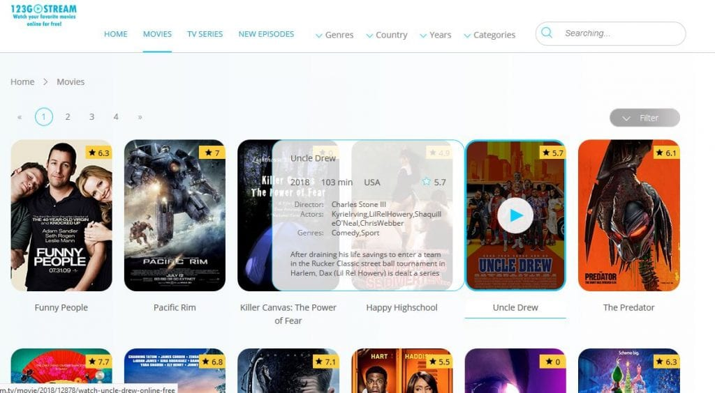 gostream - Free Movies Streaming Without Sign Up