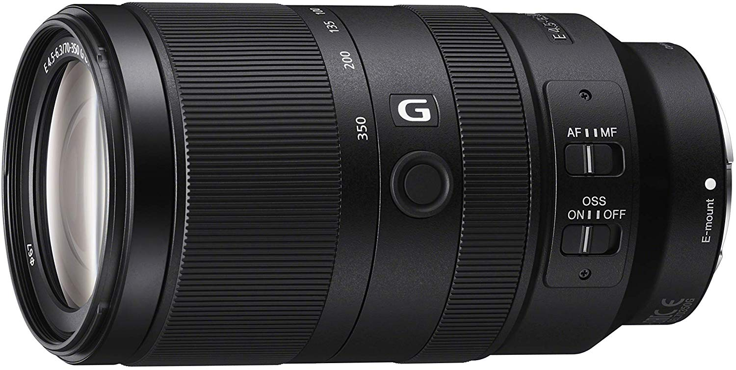 Sony E 70-350mm f/4.5-6.3 G OSS telephoto lens