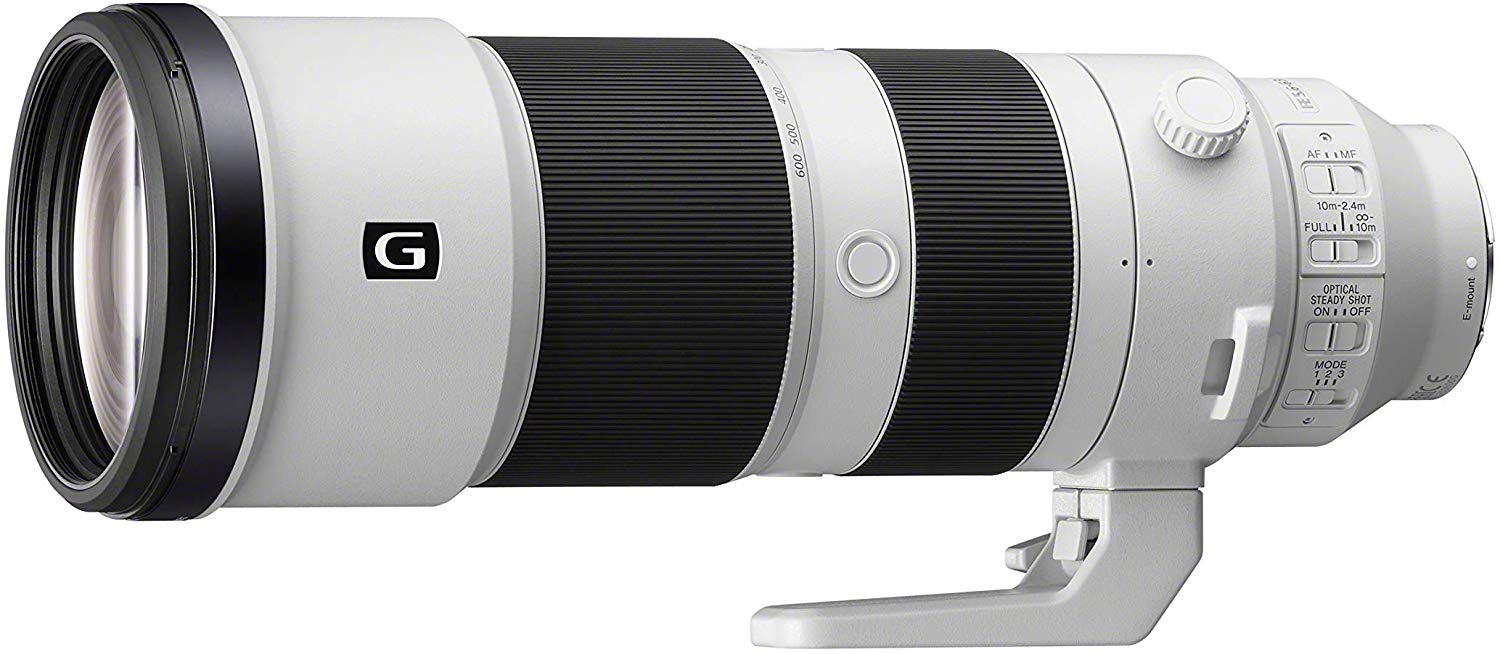 Sony FE 200-600mm F5.6-6.3 G OSS telephoto lens