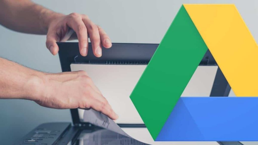 Google Drive can also Scan documents