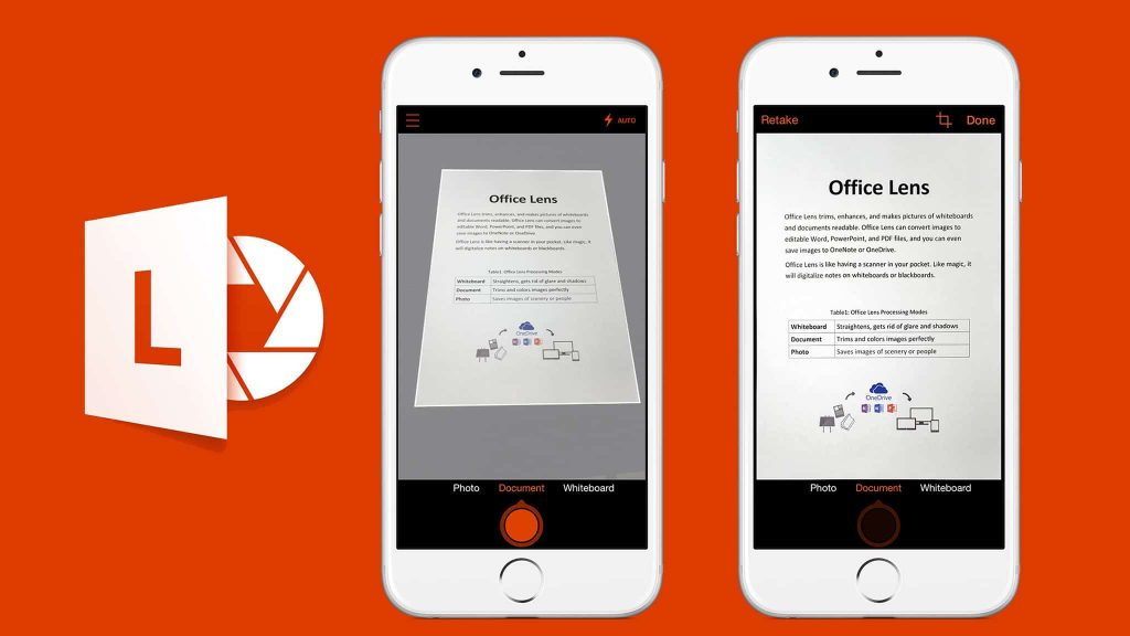 Microsoft Office Lens is Microsoft's Alternative to CamScanner