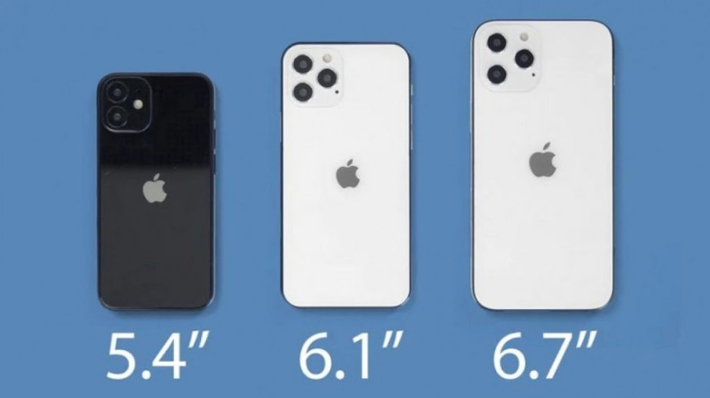 Apple iPhone 12 all models screen comparison