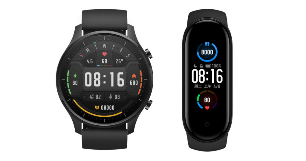 Mi Watch Revolve and Mi Smart band 5