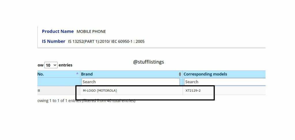 Motorola Capri Plus Tipped to Launch in India Soon, Receives BIS Certification