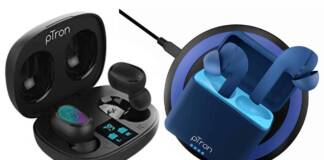 Ptron Launches Bassbuds Vista With Qi Wireless Charger, Bassbuds Pro TWS Earphones in India